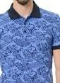 Crispino Polo Yaka Tişört İndigo